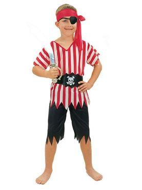 Child Budget Pirate Boy Costume