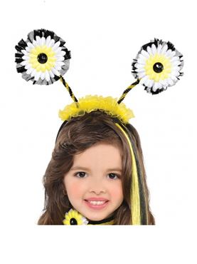 Child Bumble Bee Fairy Head Boppers