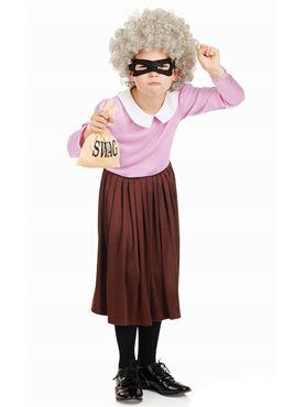 Child Burglar Granny Costume