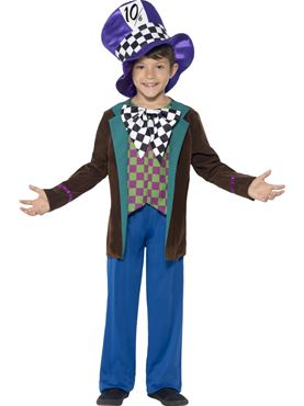 Child Deluxe Mad Hatter Costume Couples Costume