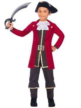 Child Captain Pirate Costume