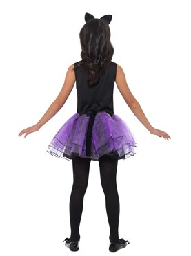 Child Cat Tutu Dress Costume - Side View