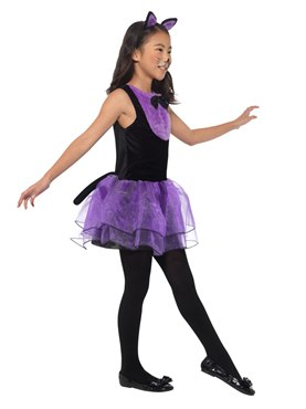 Child Cat Tutu Dress Costume - Back View