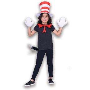 Child Cat in the Hat Accessory Set - Back View