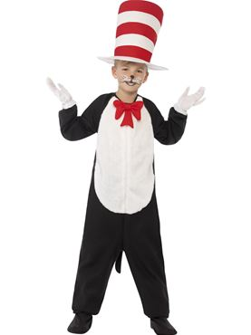 Child Cat in the Hat Costume