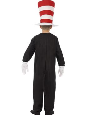 Child Cat in the Hat Costume - Side View