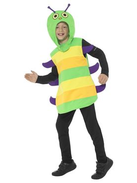 Child Caterpillar Costume - Side View