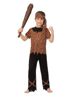 Child Cave Boy Costume