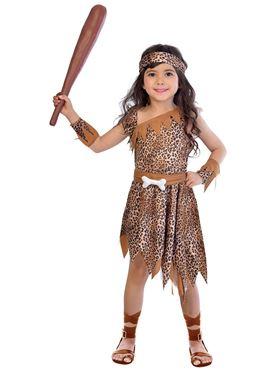 Child Cavegirl Costume Couples Costume