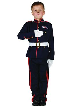 Child Ceremonial Soldier Costume