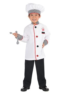 Child Chef Costume - Back View