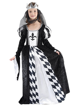 Child Chess Queen Costume Couples Costume