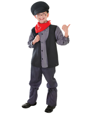 Child Chimney Sweep Boy Costume Couples Costume