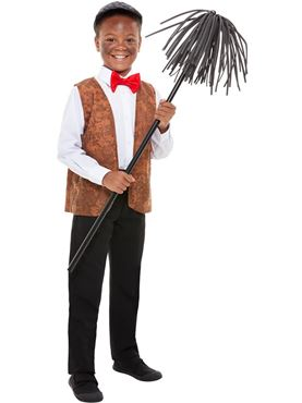 Child Chimney Sweep Kit - Back View