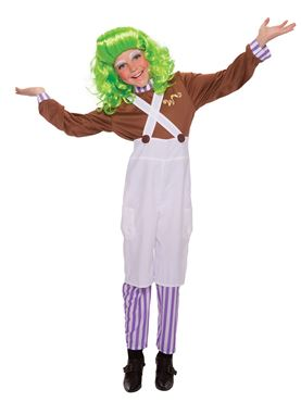 Child Chocolate Factory Worker Costume