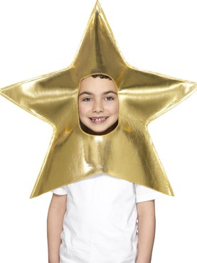 Child Christmas Star Headpiece 44892 Fancy Dress Ball