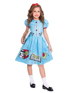 Child Clever Little Bookworm Matilda Costume