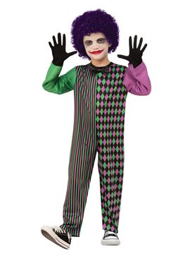 Child Clown Boy Costume