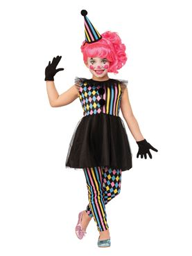 Child Clown Girl Costume Couples Costume