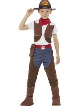 Child Cowboy Costume  sc 1 st  Fancy Dress Ball & Child Cowboy Costume - 48208 - Fancy Dress Ball