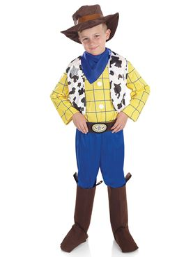Child Cowboy Kid Costume - Back View