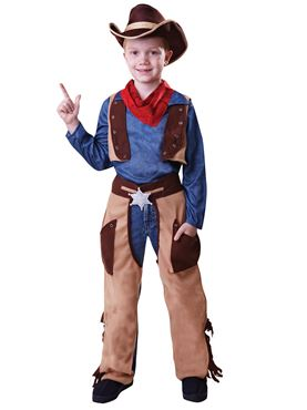 Child Cowboy Wild West Costume