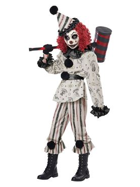 Child Creeper Clown Costume - Back View