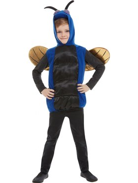 Child Creepy Bug Costume - Side View