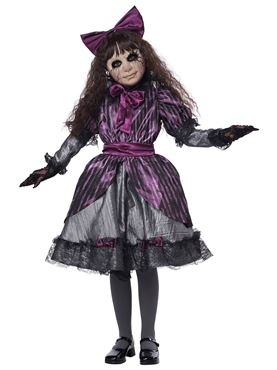 Child Creepy Doll Costume