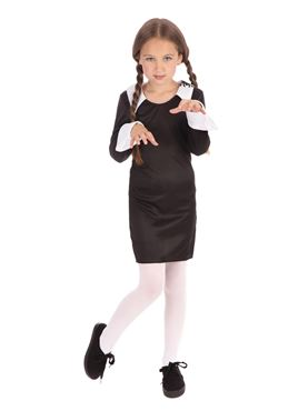 Child Creepy School Girl Costume