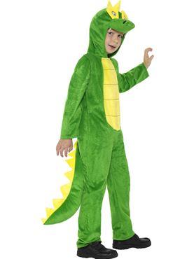 Child Crocodile Costume - Back View