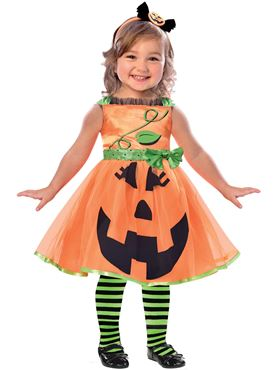 Child Cute Pumpkin Costume