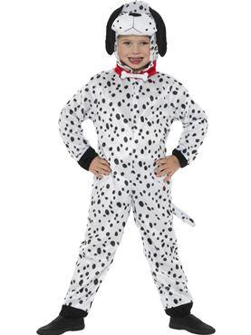 Child Dalmatian Costume - Back View