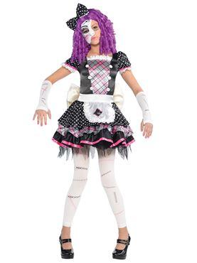 Child Damaged Doll Costume