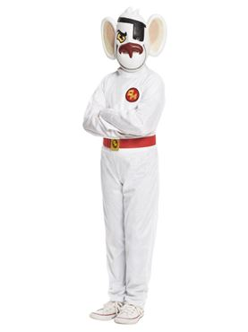 Child Danger Mouse Costume - Back View