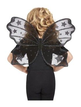 Child Dark Botanicals Butterfly Wings