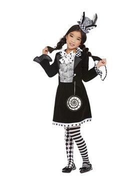 Child Dark Mad Hatter Costume Couples Costume
