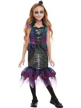 Child Dark Mermaid Costume