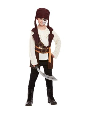 Child Dark Spirit Pirate Costume Couples Costume