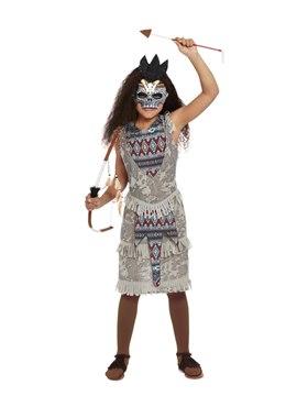 Child Dark Spirit Warrior Costume