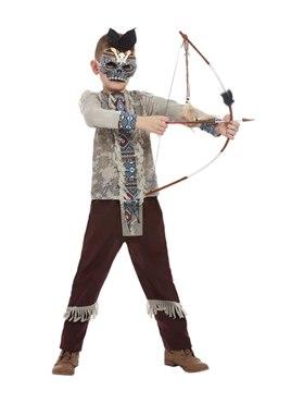 Child Dark Spirit Warrior Costume Couples Costume