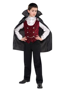 Child Dark Vampire Costume