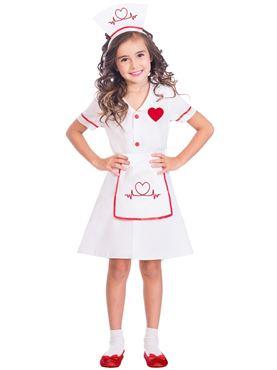 Child Darling Nurse Costume