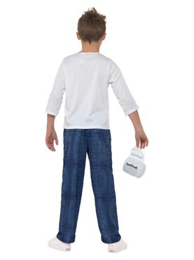 Child David Walliams Deluxe Billionaire Boy Costume - Side View
