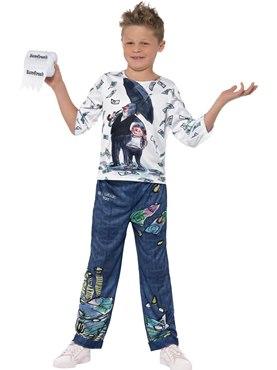 Child David Walliams Deluxe Billionaire Boy Costume