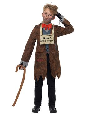Child David Walliams Deluxe Mr Stink Costume - Side View
