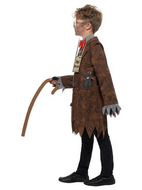 Child David Walliams Deluxe Mr Stink Costume - Back View