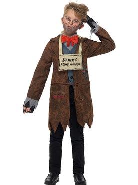 Child David Walliams Deluxe Mr Stink Costume