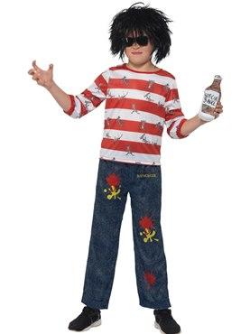 Child David Walliams Deluxe Ratburger Costume