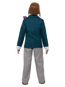Child David Walliams Grandpa's Great Escape Costume - Side View